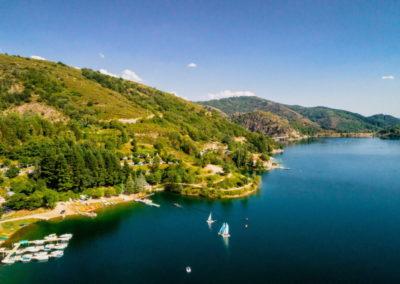 Le port du lac